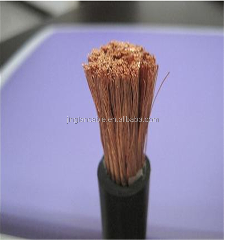 70mm2 double Rubber sheath copper wire welding cables