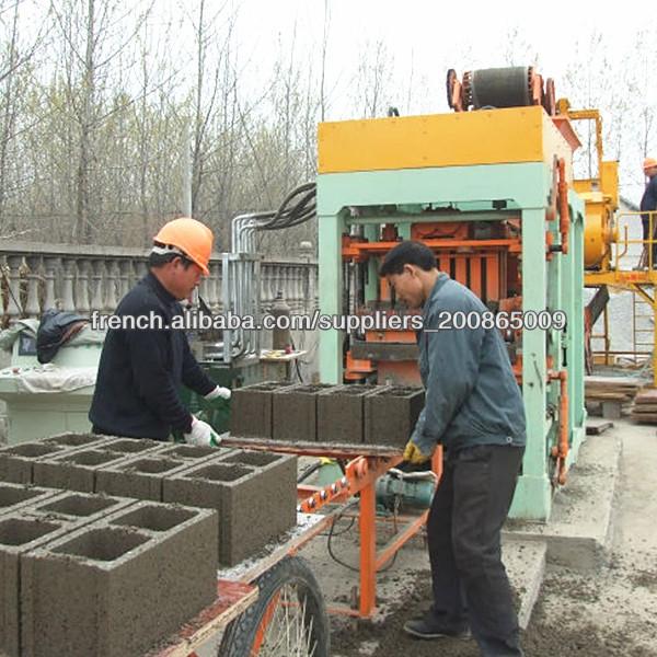 La fabrication de briques prix de la machine machine de for Prix de la brique