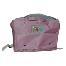 2017 new arrival big capacity pink girls laptop bags backpack