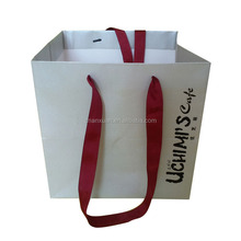 promotion deluxe brand craft gift packing paper bag