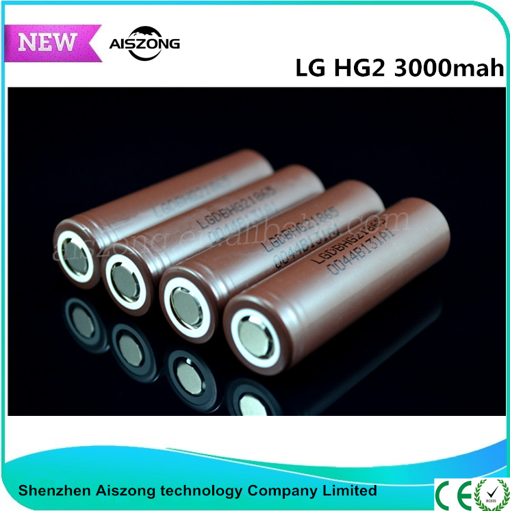 Fast discharge original 18650 30A 3000mAh lithium ion battery rechargeable