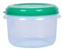 PLASTIC ROUND CONTAINER WITH LID 5605