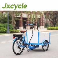 3 wheel front load van cargo tricycle