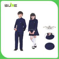 Smart beautiful children school uniforms wholesale