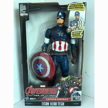 12 Inch Wholesale Captain America Movie Super Hero PVC Action Anime Figure Cartoon Toys