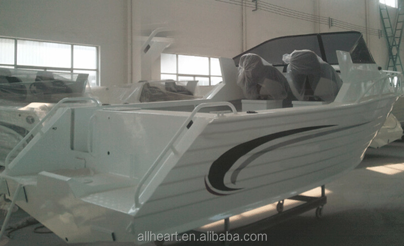 high speed 17ft aluminum cabin boat for fishing