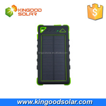 2016 Original innovation products with high solar panel conversion rate 8000mah Solar charger