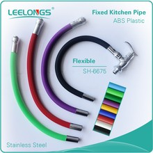 Colorful Stainless Steel Fixed Kitchen Sink Faucet Flexible Pipe