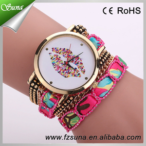 New Arrival Beautiful Dial Young Women Quartz Latest Girls Watches