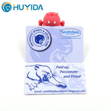 Promotion Gift Business Custom Logo Printing Plastic Card Stand