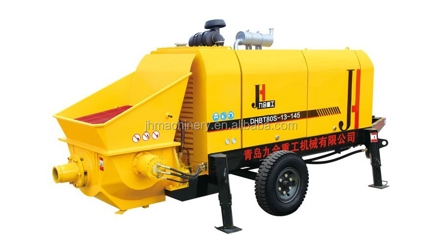 chinese pump manufacturers wholesale Concrete Pump Trailers used trucks