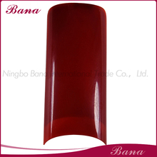 Red color stiletto nail tips/Artificial Nails/Nail art
