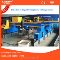 Industrial hypertherms 1530 steel plate fabricating small gantry cnc plasma cutting machine