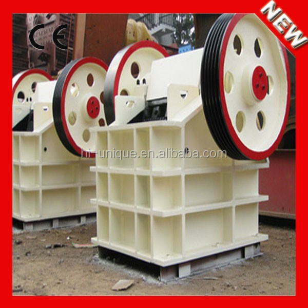 Chinese Machines for Stone 320Mpa Compressive Strength PE-500x750 Jaw Crusher