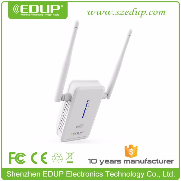 AC 750M Dua-Band Wireless Repeater fm radio repeater 2.4/5.8GHZ EDUP EP-AC2913