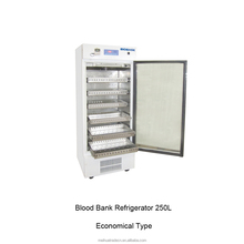 SS Drawers Shelves with Digital Temperature Recorder Blood Bank Refrigerators