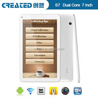 Promotion Created S7 tablet pc tablet with sim cards slot gsm capacitive touch screen quad core