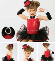 MB0816 Child lycrial ballet tutu leotard dance dress costume