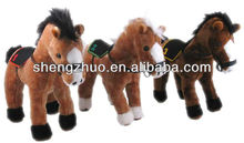 Plush Farm animal my little pony with saddle