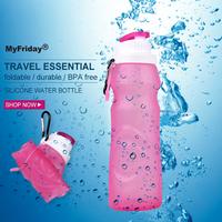 500ml Water Bottle/Custom Water Bottle Labels/Expandable Water Bottle