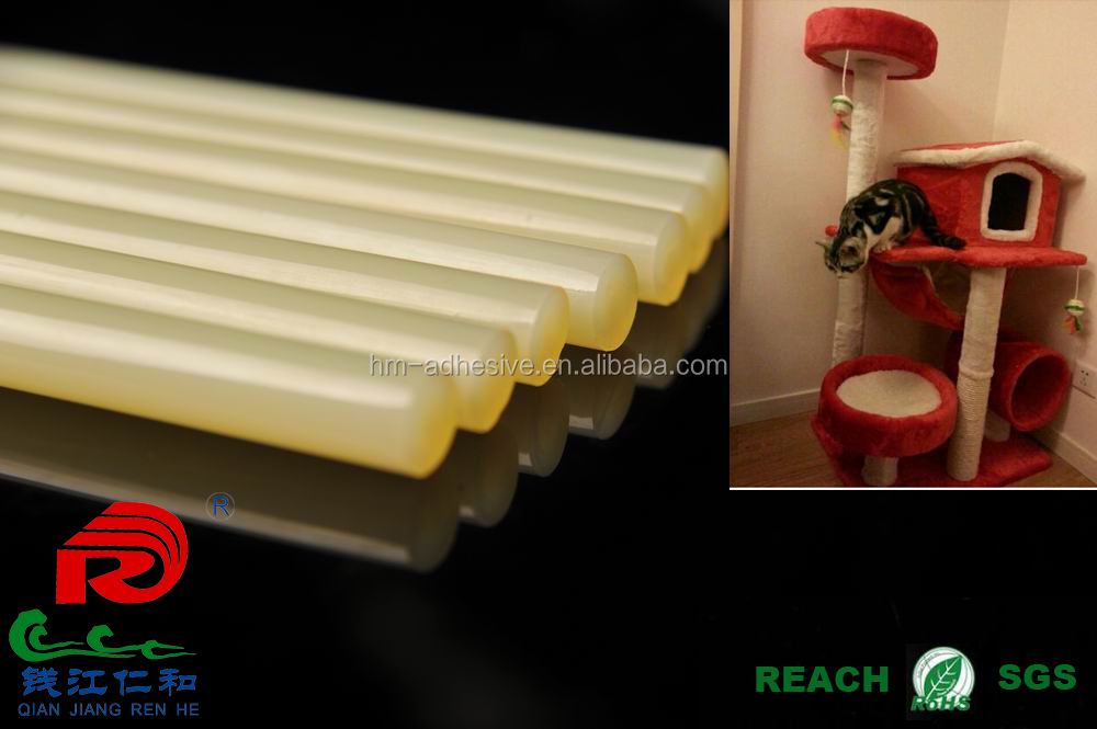 hot melt glue stick for cat climbing house and pet house