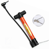 Fangcan Plastic Orange Multifunction Portable Bicycle Tire/Soccer/Basketball Hand Air Pump
