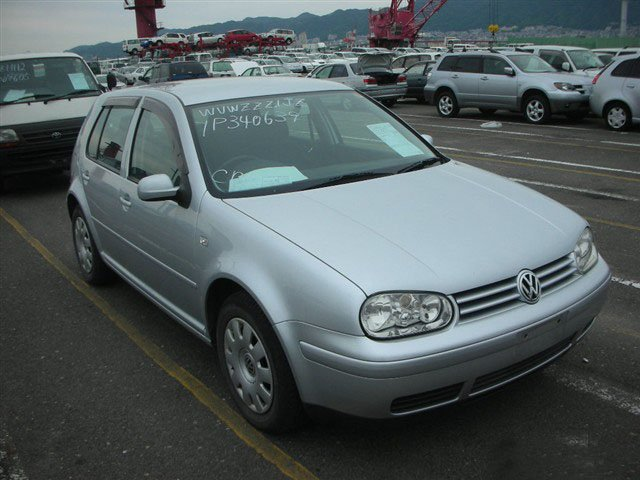 2001 Volkswagen Golf Wagon CLI GF-1JAPK Used Car From Japan (84782)