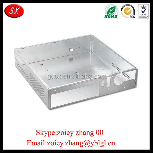 Guangdong Province Custom Precision CNC Milling Metal Box For Sale