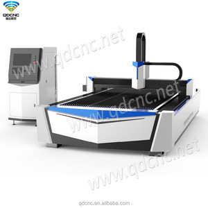 fiber laser cutting machine fiber 500W, 700W, 1000W metal cutting machine QD-M1325FL/QD-M1530FL