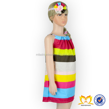 Posh Colorful Stripe Baby Girls Summer Pillowcase Dresses Pictures Of Latest Gowns Designs Latest Fashion Dresses