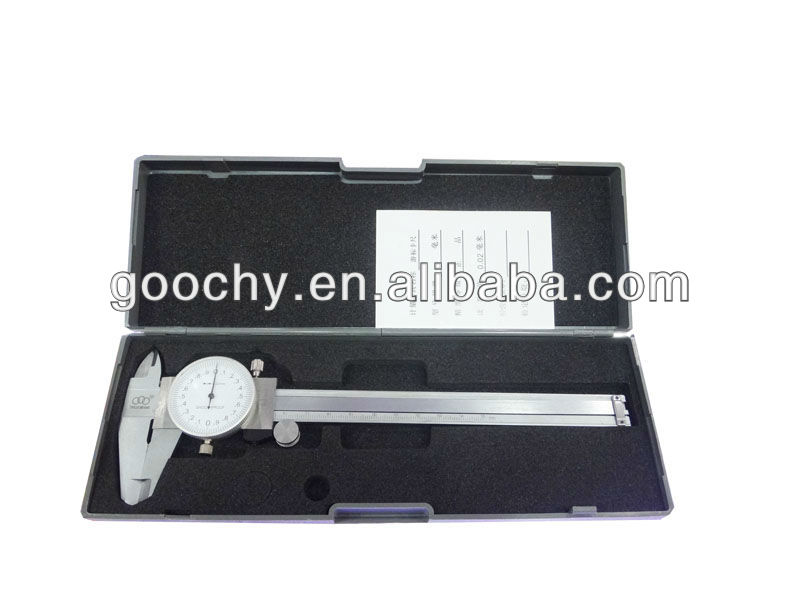 150mm 0.02mm high accuracy dial caliper measuring instrument
