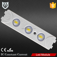 AC220V high voltage IP67 waterproof 3 chips smd 5730 power 1.5W led inject module for lightbox lighting
