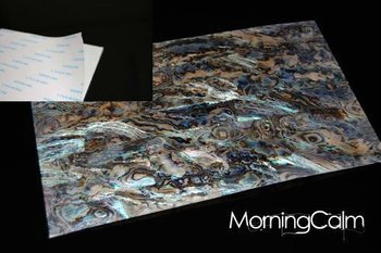 Dragon Paua Self-Adhesive Veneer Sheet (Mother of Pearl MOP Shell Overlay Inlay Luthier Nacre)