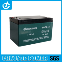6-dzm-12 sealed lead acid (SLA) rechargeable battery for E-Bicycle