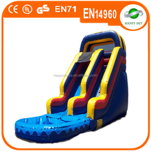 0.55mm PVC water slide inflatable, inflatable water slides wholesale, largest inflatable water slide