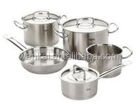 8pcs aluminum polishing finished cookware set/ sauce pot/milk pot