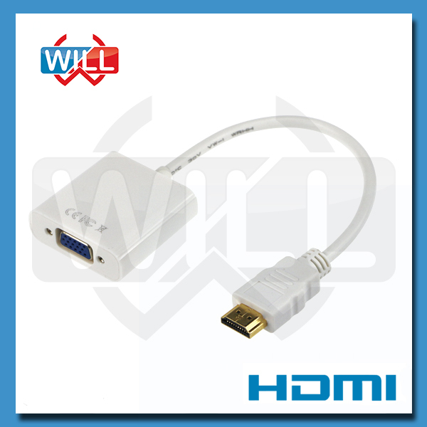 1080P HDMI to VGA Adapter Digital to Audio Converter Cable