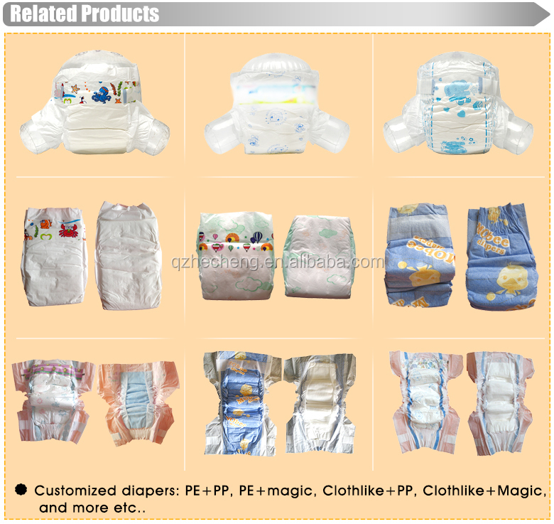 Competitive prices of baby diapers
