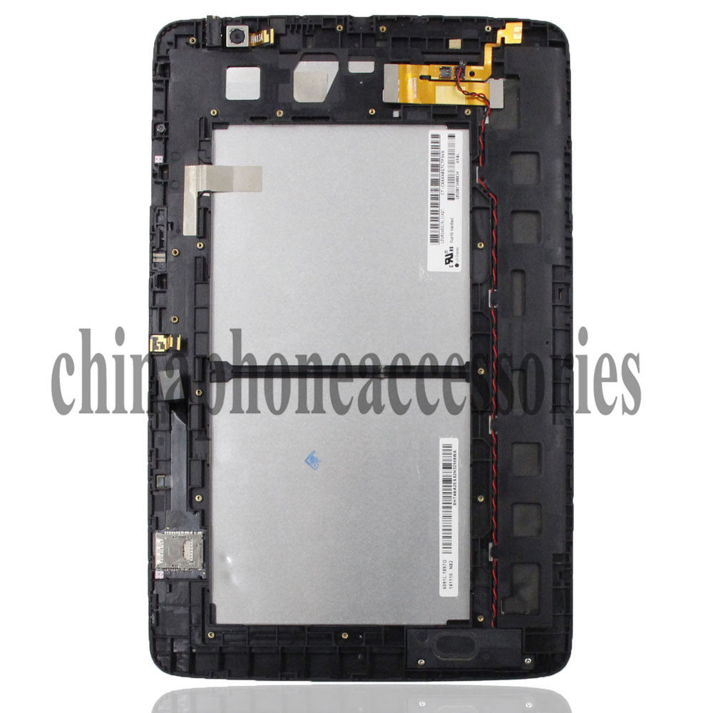 For LG V700/VK700 G Pad 10.1 WiFi Tablet LCD Screen Digitizer Touch Assembly + Frame