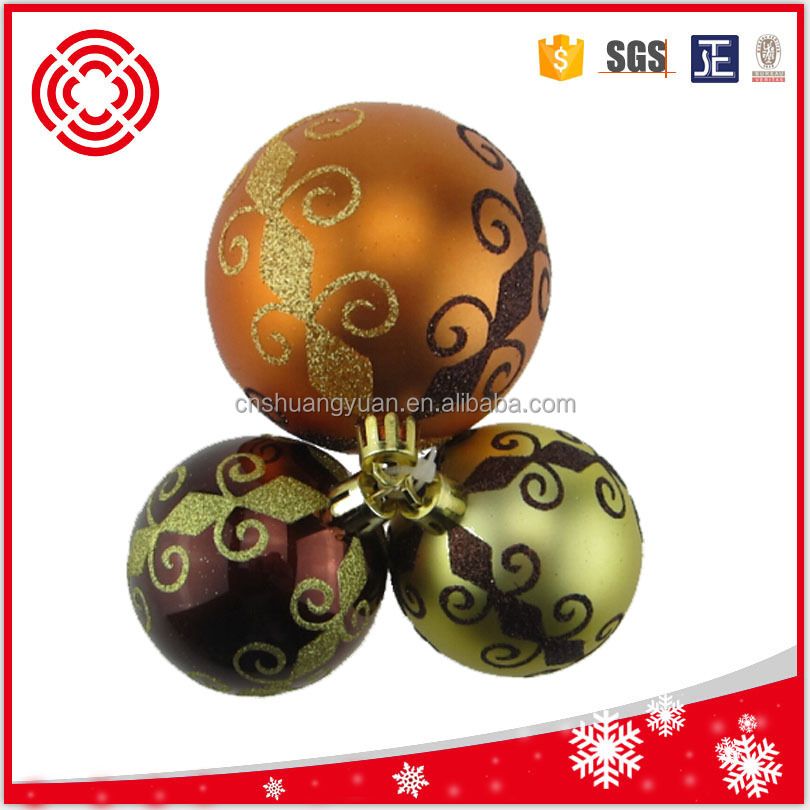 New product , christmas bauble hand painting ball