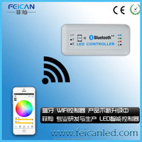 factory directly sale DC12V-24V 144W-288W CE&ROHS bluetooth RGB controller