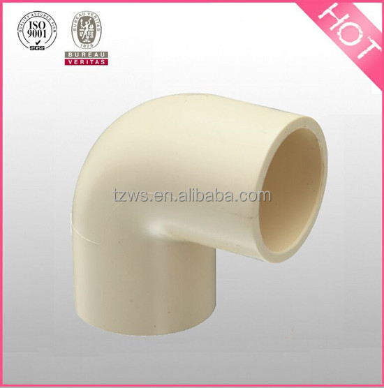 """HJ"" Hot water gas CPVC D2846 pipe fitting Faucet equal elbow dimensions"