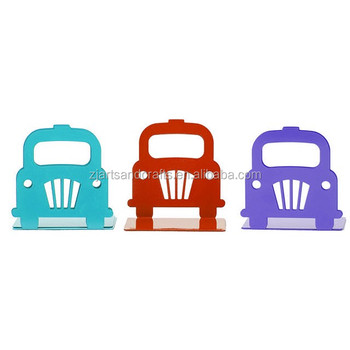Metal Cheap Car Shape Bookend