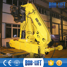 12 Ton Knuckle Boom Dump Truck with Crane for Sale