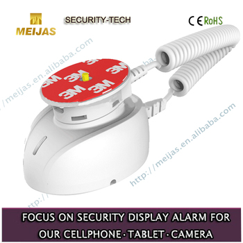 Supermarket show case security alarm display mobile phone stand