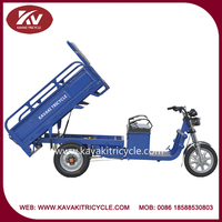 2015 China kavaki brand three wheel electric adult tricycles for cargo from china factory cheap for sale
