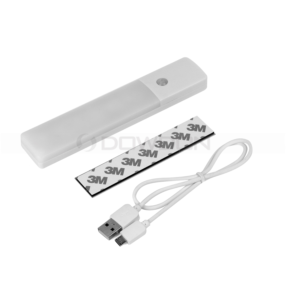 Portable Ultrathin Mini Motion Sensor Light Sensor Rechargeable LED Night Light