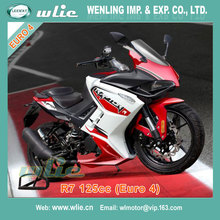 Kawasaki motorcycle japanese japan style EEC Racing R7 125CC with Euro 4 Water cooled EFI system