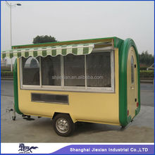 CE OEM gas/electric mobile street fast food vending used electric utility trailer/carts/truck/kitchen/van/kiosk for sale
