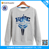 2016 Fashion Design No Hood Sweatshirt For Men With Custom Logo And Label